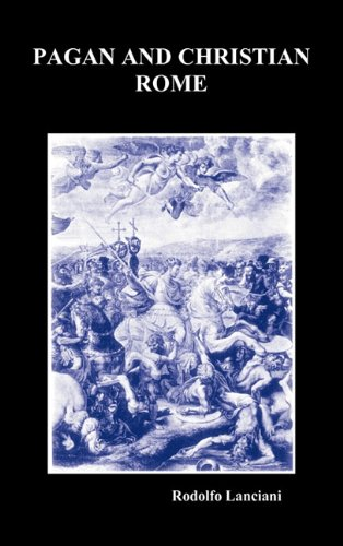 Large book cover: Pagan and Christian Rome