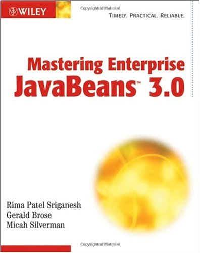 Large book cover: Mastering Enterprise JavaBeans 3.0