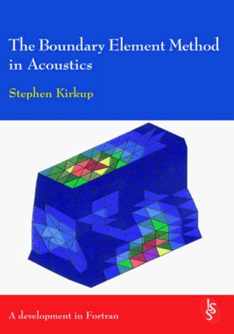 Large book cover: The Boundary Element Method in Acoustics