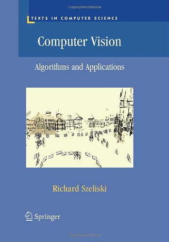 Large book cover: Computer Vision: Algorithms and Applications