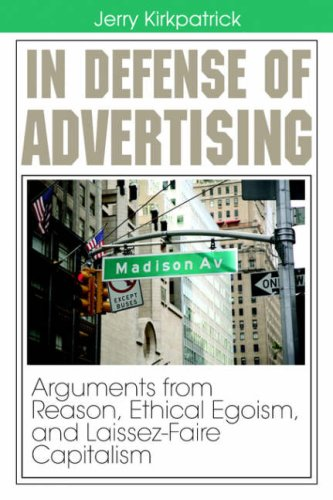 Large book cover: In Defense of Advertising