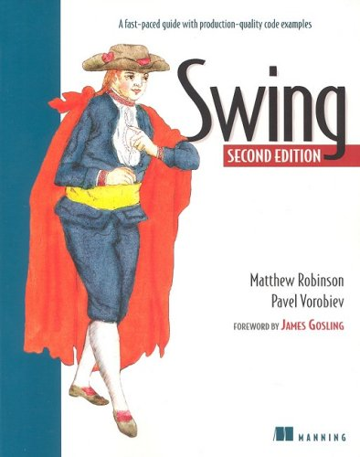 Large book cover: Swing