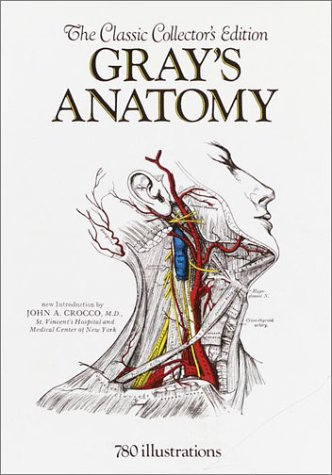 Large book cover: Anatomy of the Human Body (20th Edition)