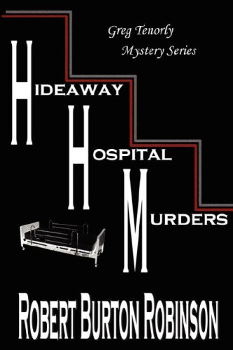 Large book cover: Hideaway Hospital Murders