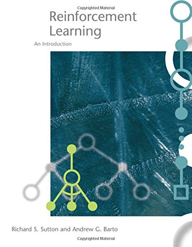 Large book cover: Reinforcement Learning: An Introduction