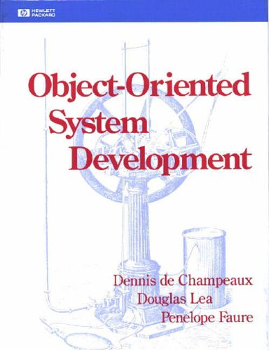 Large book cover: Object-Oriented System Development