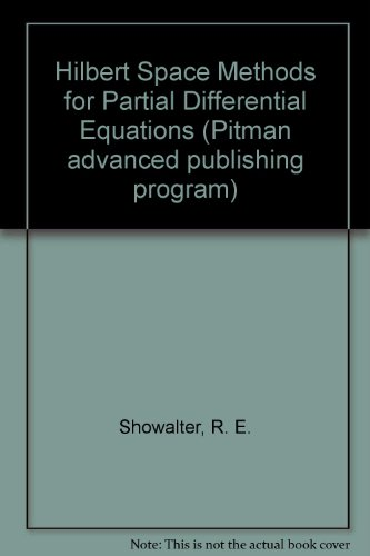 Large book cover: Hilbert Space Methods for Partial Differential Equations