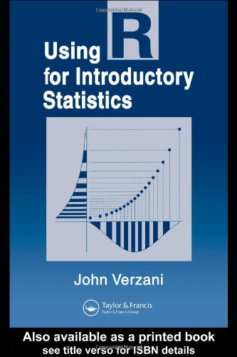 Large book cover: Using R for Introductory Statistics