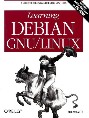 Large book cover: Learning Debian GNU/Linux