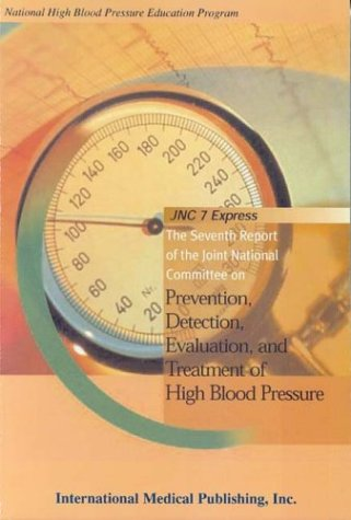 Large book cover: Prevention, Detection, Evaluation, and Treatment of High Blood Pressure