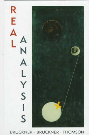 Large book cover: Real Analysis