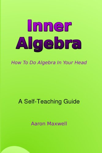 Large book cover: Inner Algebra