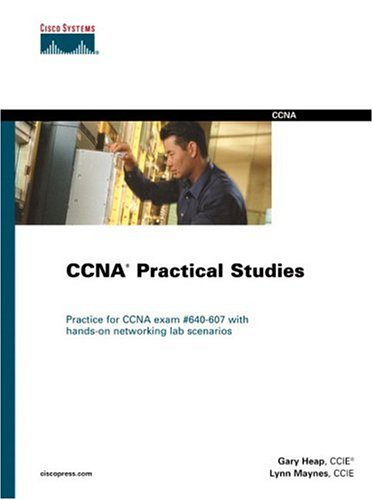 Large book cover: CCNA Practical Studies