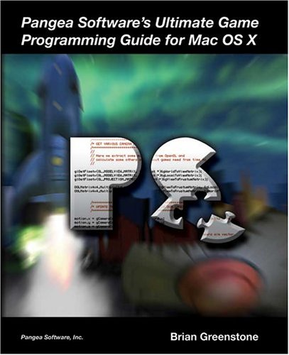 Large book cover: Pangea Software's Ultimate Game Programming Guide for Mac OS X