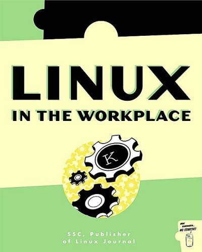 Large book cover: Linux in the Workplace