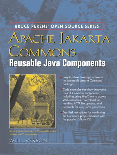 Large book cover: Apache Jakarta Commons: Reusable Java Components