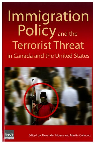 Large book cover: Immigration Policy and the Terrorist Threat in Canada and United States