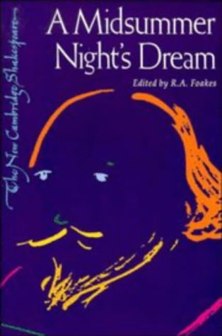 Large book cover: A Midsummer Night's Dream