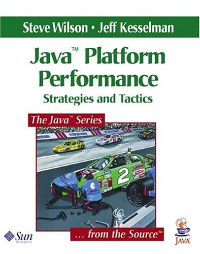 Large book cover: Java Platform Performance: Strategies and Tactics