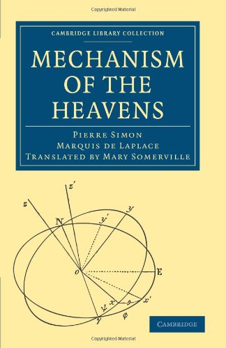 Large book cover: Mechanism of the Heavens