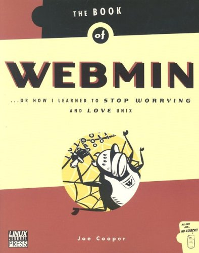 Large book cover: The Book of Webmin