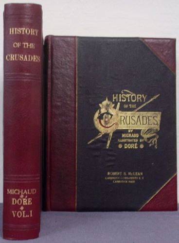 Large book cover: The History of The Crusades