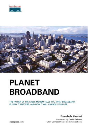 Large book cover: Planet Broadband