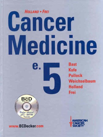 Large book cover: Cancer Medicine
