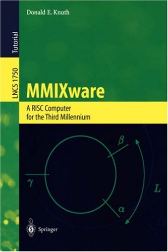 Large book cover: MMIXware: A RISC Computer for the Third Millennium