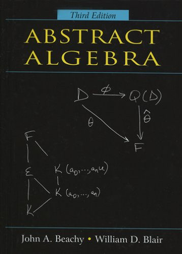 Large book cover: Abstract Algebra