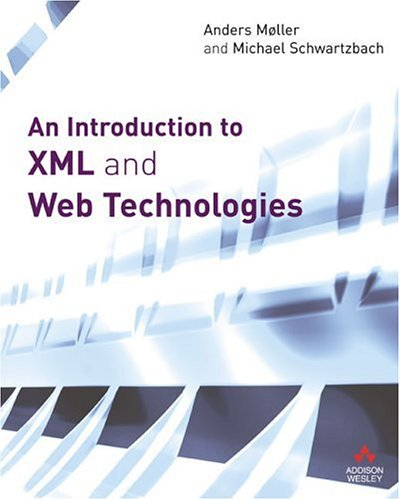 Large book cover: An Introduction to XML and Web Technologies