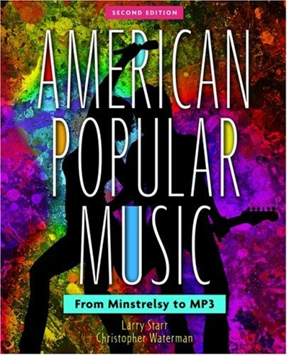 Large book cover: American Popular Music