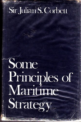 Large book cover: Some principles of maritime strategy