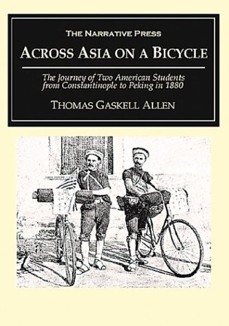 Large book cover: Across Asia on a Bicycle