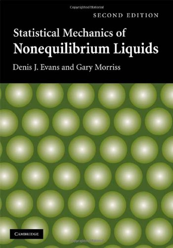 Large book cover: Statistical Mechanics of Nonequilibrium Liquids