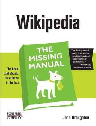 Large book cover: Wikipedia: The Missing Manual