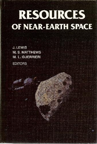 Large book cover: Resources of Near-Earth Space