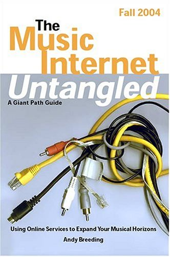 Large book cover: The Music Internet Untangled