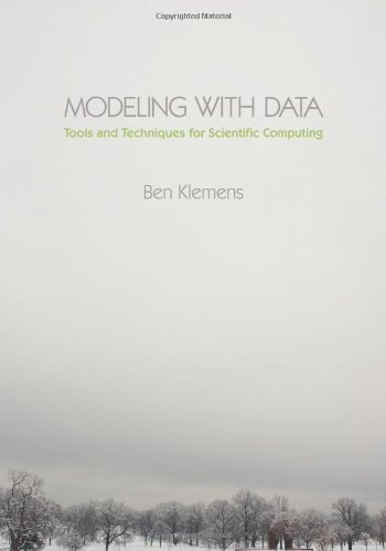 Large book cover: Modeling with Data: Tools and Techniques for Scientific Computing