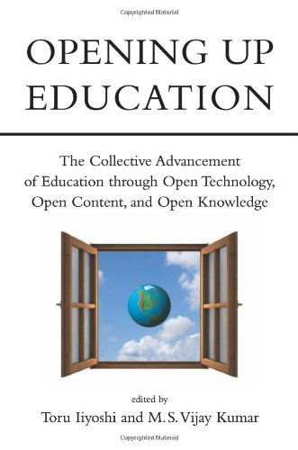 Large book cover: Opening Up Education