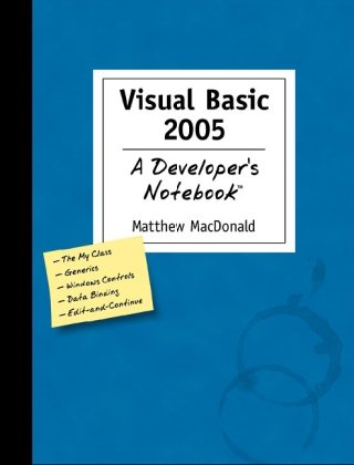 Large book cover: Visual Basic 2005: A Developer's Notebook