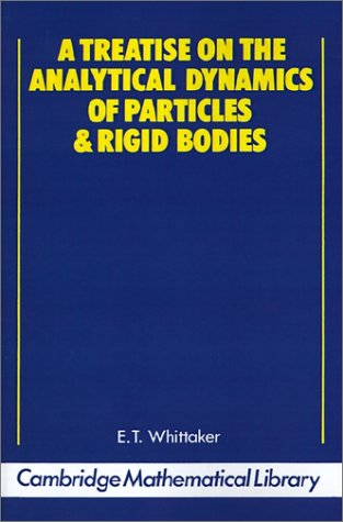 Large book cover: A Treatise on the Analytical Dynamics of Particles and Rigid Bodies