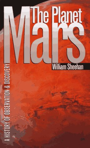 Large book cover: The Planet Mars: A History of Observation and Discovery