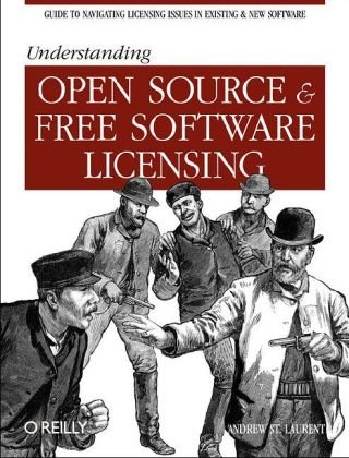 Large book cover: Understanding Open Source and Free Software Licensing