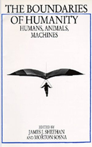 Large book cover: The Boundaries of Humanity: Humans, Animals, Machines