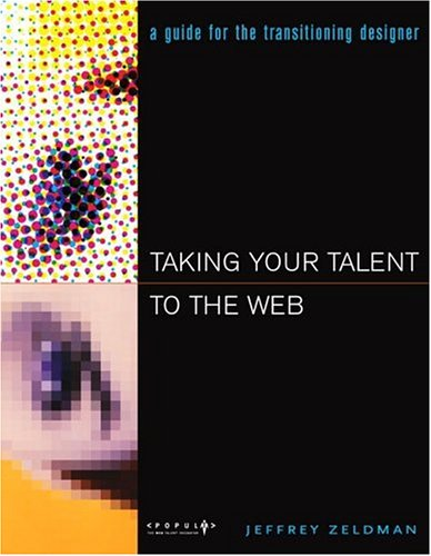 Large book cover: Taking Your Talent to the Web