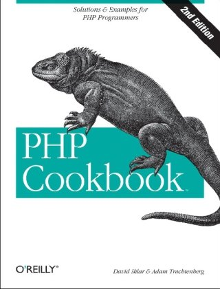 Large book cover: PHP Cookbook