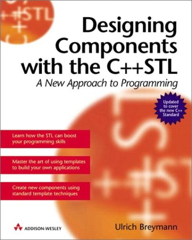 Large book cover: Designing Components with the C++ STL