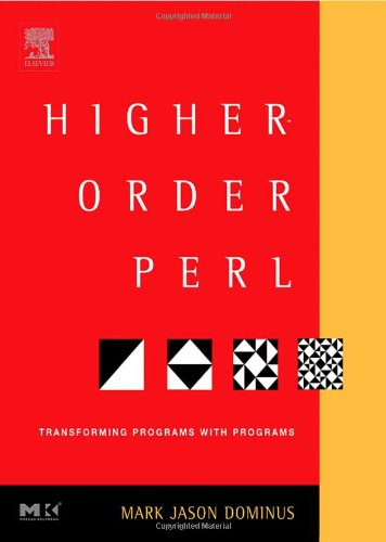 Large book cover: Higher-Order Perl: Transforming Programs with Programs