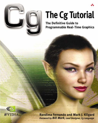 Large book cover: The Cg Tutorial: The Definitive Guide to Programmable Real-Time Graphics
